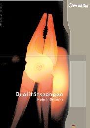 Qualitätszangen - OrbisWill GmbH & Co. KG