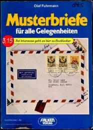 Olaf Fuhrmann Bewährte Musterbriefe für alle Gelegenheiten