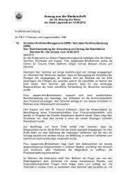 Auszug aus der Niederschrift des Rates vom 10.09.2012 - Lippstadt