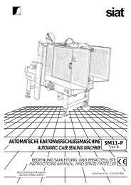 automatische kartonverschliessmaschine automatic case sealing ...