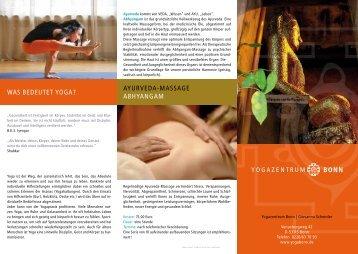 yogaflyer2013.pdf - Yoga in Bonn