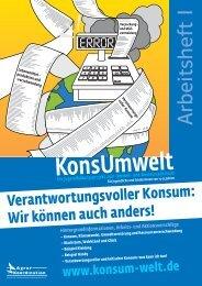 Arbeitsheft I - Konsum Welt