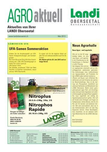 Nitroplus Nitrophos Rapide - LANDI Oberseetal