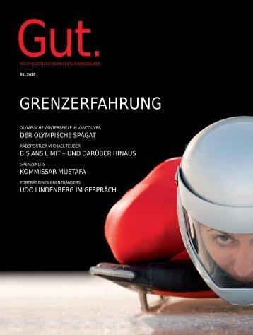 GRENZERFAHRUNG - Gut.Magazin - und Giroverband