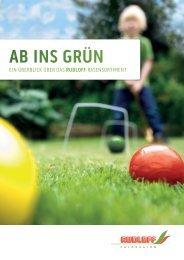 Ab ins Grün - Rudloff Feldsaaten GmbH
