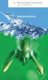 4. Wassertage Samedan Dokumentation