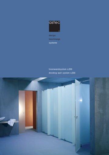 Digitale Broschüre Astec System s.200 - Projekt 4B