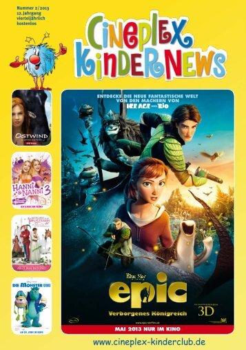Cineplex Kindernews - Cineplex - KinderClub