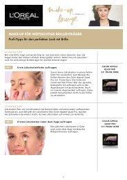make-up für weitsichtige Brillenträger Profi-Tipps für den perfekten ...