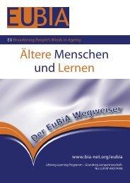 Ältere Menschen und Lernen - Hamburger Volkshochschule