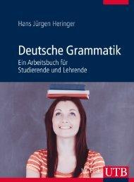 Leseprobe zum Titel: Deutsche Grammatik - Die Onleihe