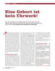 Eine Geburt ist kein Uhrwerk! - Frauengesundheitszentrum Graz