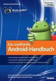 Das inoffizielle Android-Handbuch Auszug für c't Leser