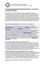 Merkblatt Fruktoseintoleranz - Gastroenterologie-wettingen.ch