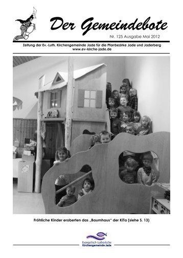 Gemeindebote Nr. 125 Mai 2012 ohne Werbung.pdf - Evangelisch ...