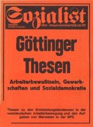 Arbeiterbewusstsein, Gewerkschaften und ... - Jusos Bielefeld