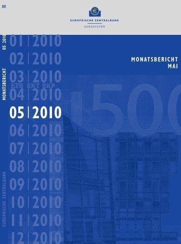monatsbericht mai 2010 - Treasuryworld