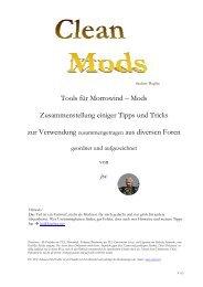 Tools für Morrowind – Mods Zusammenstellung einiger ... - allhier.de