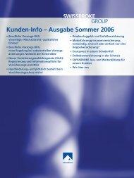 Ausgabe Sommer 2006 - swissbroke