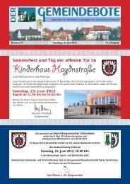 Ausgabe :Gomaringen 16.06.12.pdf - Gomaringer Verlag