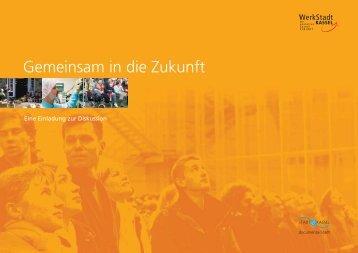 """1. Broschüre """"Gemeinsam in die Zukunft"""" - Kassel"""