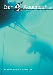 Aquanaut 2007-04 (pdf) - Aquanautic Taucher Hamburg eV