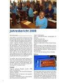 Jahresbericht 2008 Sozial- und Entwicklungshilfe ... - Kolping Schweiz - Seite 2