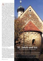 St. Jakob und Isis - Hagia Chora Journal