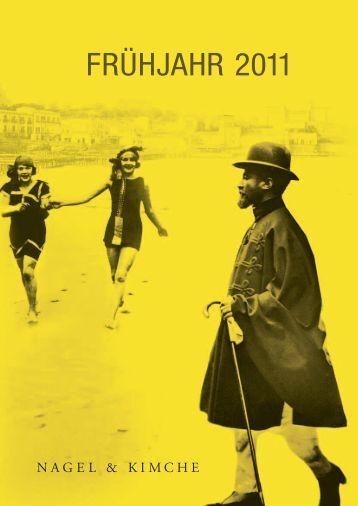 FRühJAhR 2011 - Hanser Literaturverlage