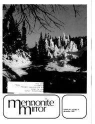 No. 4 - Canadian Conference of Mennonite Brethren Churches