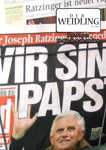 Der Weidling 3/2008 - Pfarre Windischgarsten