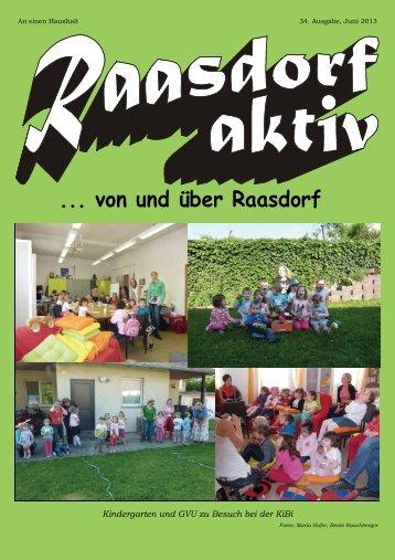 ... von und über Raasdorf - Region Marchfeld