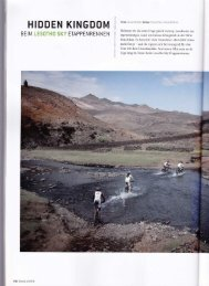 HIDDEN KINGDOM - Lesotho Sky
