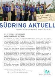 Südring Aktuell Juni 2013 - Leben mit Behinderung Hamburg
