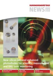 New silicon infrared enhanced photodiodes for scientific ...