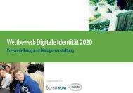 Wettbewerb Digitale Identität 2020 - Deutschland sicher im Netz