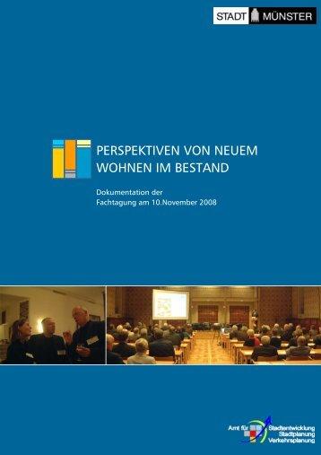 Dokumentation der Fachtagung am 10.November ... - Stadt Münster