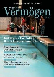 Kultureller Höhenflug: Das Schauspielhaus Salzburg