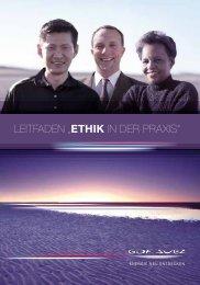 """LEITFADEN """"Ethik IN DEr PrAxIs"""" - GDF Suez"""