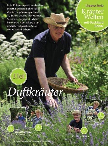 Kräuter Welten - Burkhard Bohne