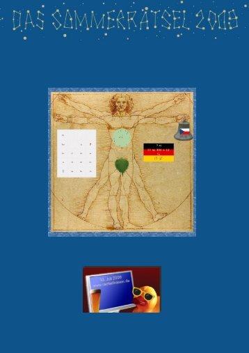 Hier - Das Sommerrätsel 2009 - Rätselnasen