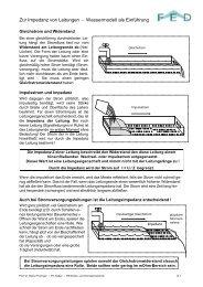 Impedanz von Leitungen (pdf) - FED-Wiki