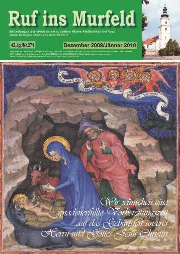 Dezember 2009/Jänner 2010 - Stadtkirche Graz