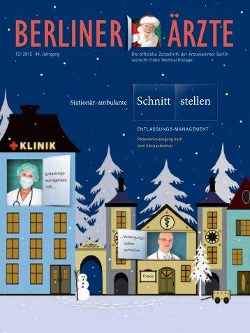 Schnitt stellen - Berliner Ärzte