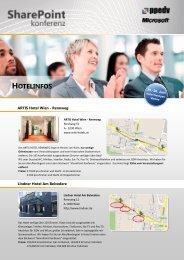 HOTELINFOS - SharePoint konferenz