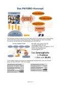 Analyse über die Geschäfte der PAYGRO GmbH - MLM - Seite 3