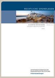 Deckungen für gebundene Finanzkredite - AGA-Portal
