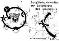Europäische Konvention zur Bekämpfung des Terrorismus
