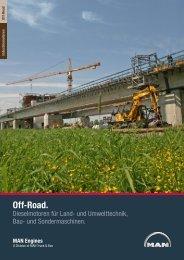 Broschüre Off-Road (3 MB PDF) - MAN Engines