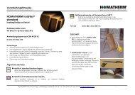HOMATHERM holzFlex® standard - Holz Online